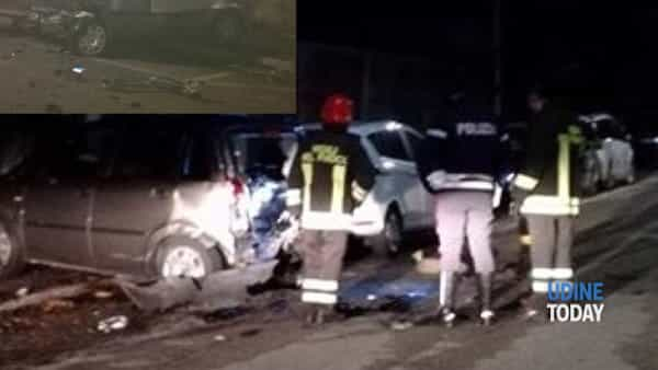 L'incidente in via Codroipo