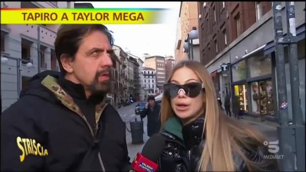 VIDEO Tapiro d'oro per Taylor Mega dopo la cacciata da Canale 5