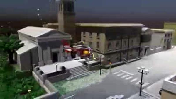 VIDEO Cividale ricostruita nel mondo dei Lego
