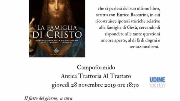 La famiglia di Cristo: Andrea Di Lenardo presenta il suo libro