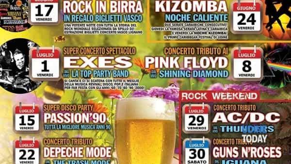 Music festival al Parco del Cormor, si comincia con il meglio di Max Pezzali