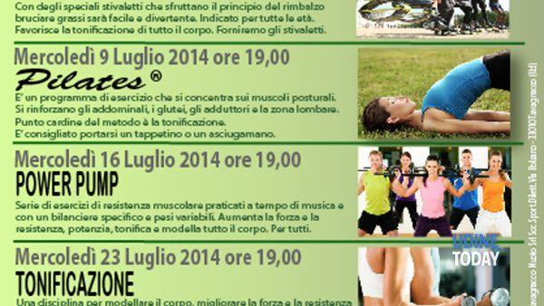 Fitness in città, lezioni gratuite al parco Moretti