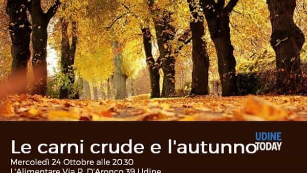Le carni crude e l'autunno