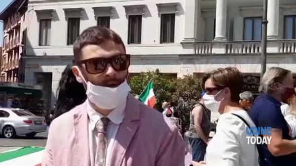 Anche a Udine il centrodestra unito in piazza contro il Governo