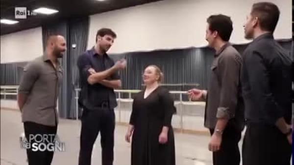 La friulana Catherine in pista con i ballerini della tv su Rai1, un sogno che diventa realtà