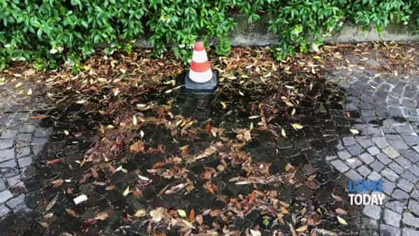Incubo tubature dell'acqua, un altro marciapiede allagato