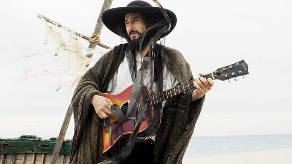 Il cantautore Vinicio Capossela, Targa Tenco 2019, in concerto sull'Altopiano del Montasio