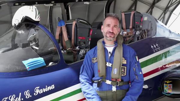 Frecce Tricolori decollate per un abbraccio simbolico all'Italia