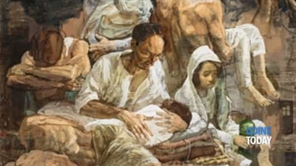 """""""Exodus, arte per credere"""" con Safet Zec all'Abbazia di Rosazzo"""