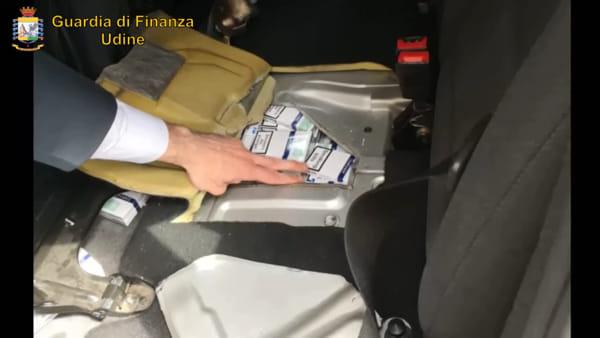 La Guardia di Finanza arresta tre contrabbandieri di sigarette