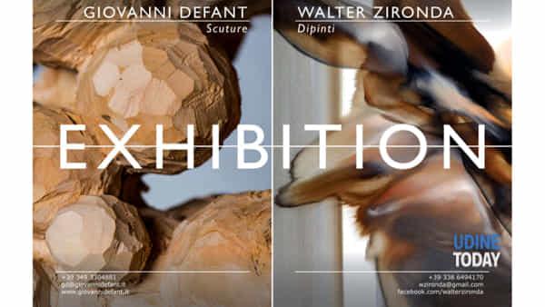 """Exhibition"", Defant e Zironda in mostra a Cividale"