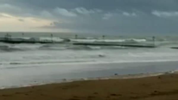 Lignano allagata, stamattina il picco della marea