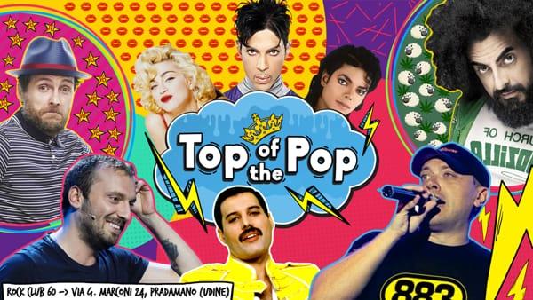 """""""Top of the Pop"""": a Pradamano la festa che celebra i migliori successi italiani dagli 0 a oggi"""
