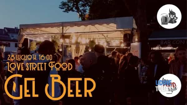 Gel beer al Love Street Food