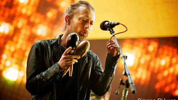 Thom Yorke, il leader dei Radiohead in concerto a Villa Manin