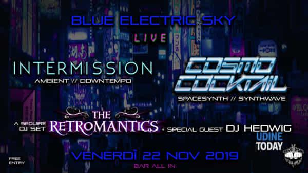 Cosmo Cocktail & Intermission con The Retromantics djset