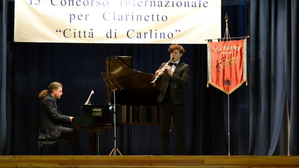"""A Carlino il concorso internazionale per clarinetto """"Città di Carlino"""" 2018"""