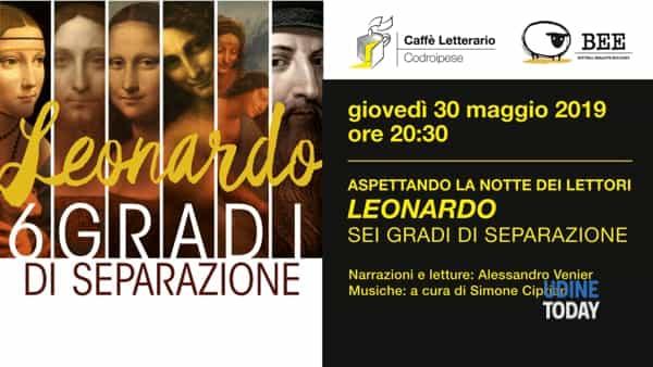 """Aspettando la notte dei lettori con """"Leonardo: sei gradi di separazione"""""""