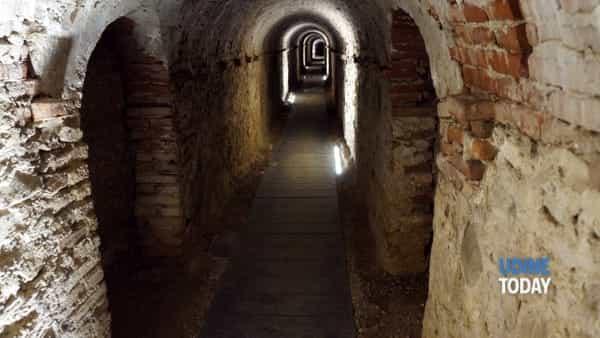 Fascino e mistero a Palmanova: riapre al pubblico una galleria sotterranea