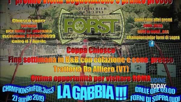 Championsinfor 3vs3, la gabbia