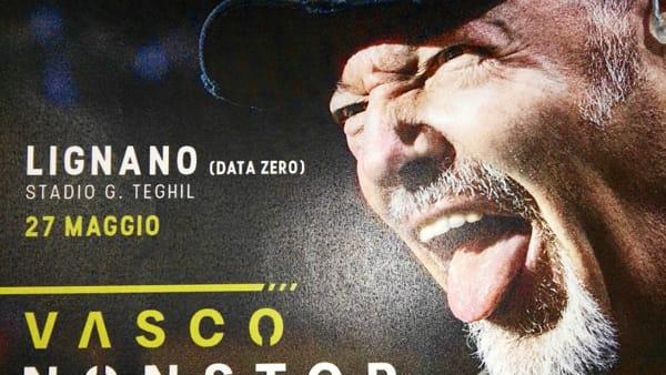 Vasco Rossi sceglie per la data zero del suo tour Lignano Sabbiadoro