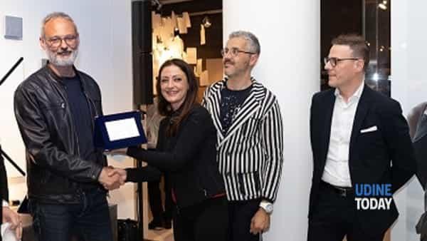 Manuel Cavallin di Treviso vincitore del 6° Concorso Design e Creatività, secondo classificato Zuliani Nicola (Palazzo di Sona Verona), 3° Paolo Morettin (San Giorgio di Nogaro UD)-4