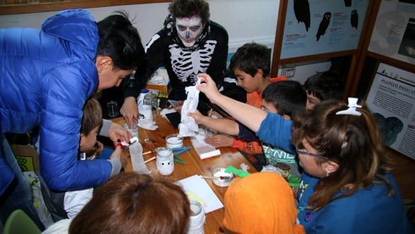 Halloween alla Riserva Naturale Regionale del Lago di Cornino