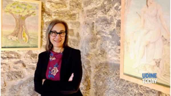 Mariella Smareglia espone al castello Savorgnan di Artegna