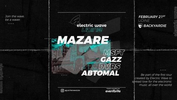 Electric Wave Udine 2020: a Pradamano l'evento di musica elettronica