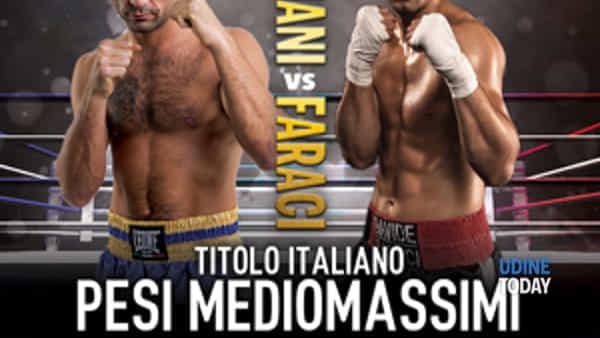 Boxe, a Udine la sfida tricolore pro