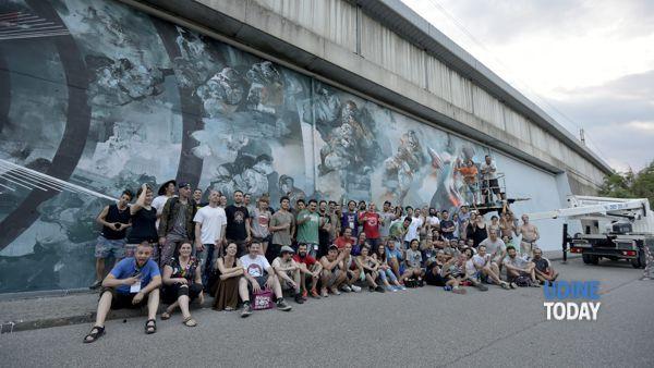 Il festival di 'street art' raccontato in un video: la presentazione a Gemona