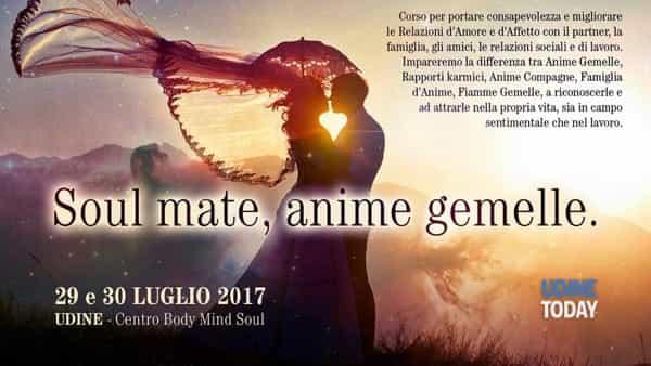 Soul mate, anime gemelle: seminario di theta healing
