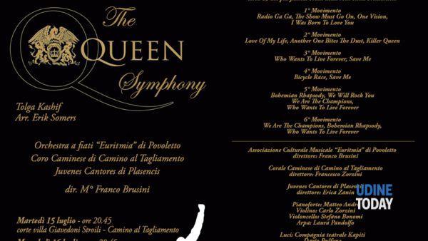 The Queen Symphony a Camino al Tagliamento