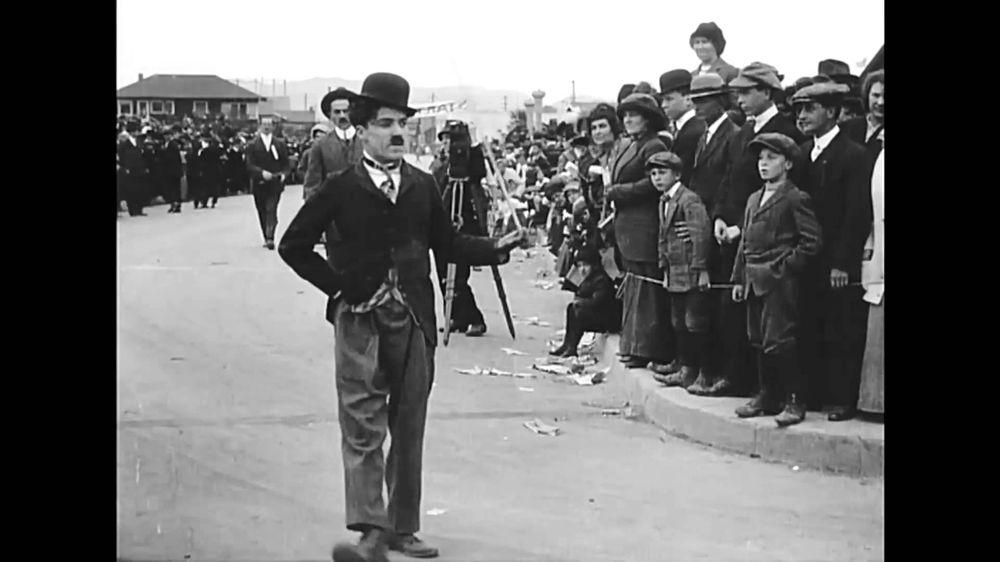 Charlie Chaplin, 'Charlot'