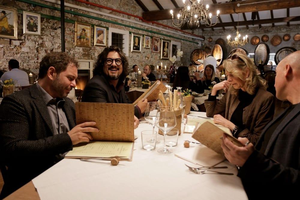 Alessandro Borghese e i quattro ristoratori