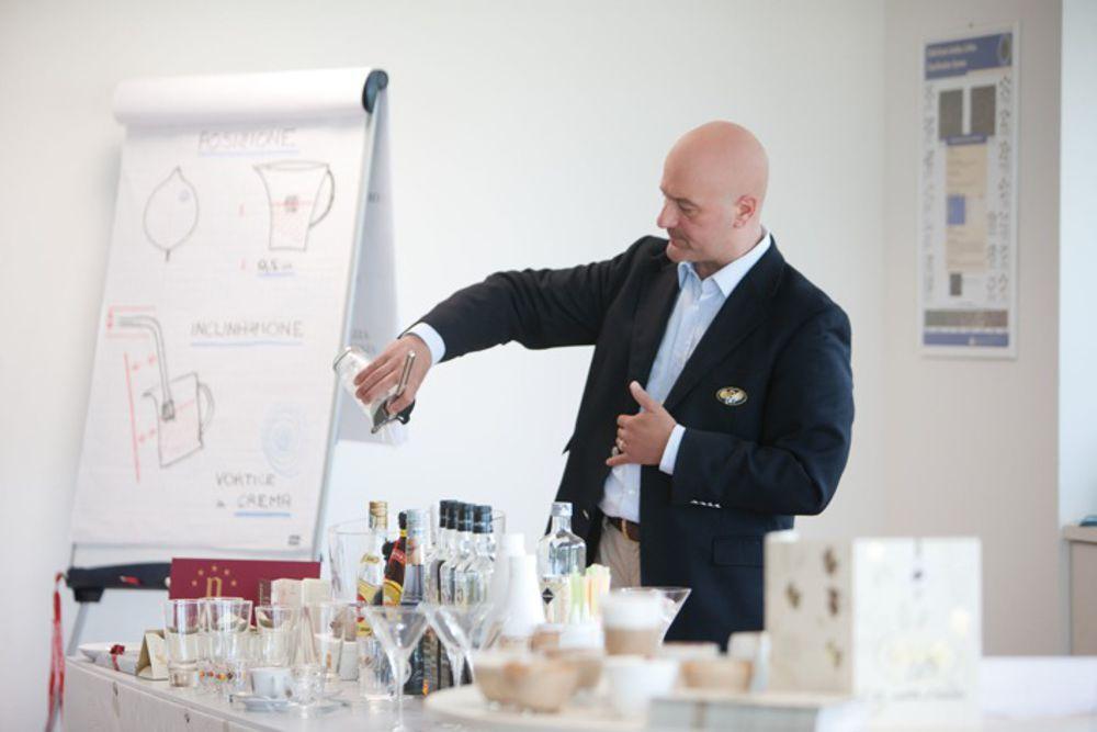 Il coffe trainer Giovanni Roitero