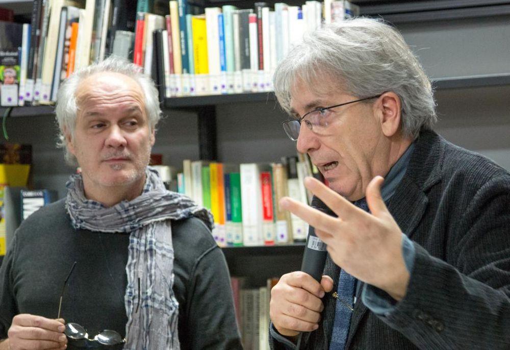 Elvio Scruzzi e Franco Marchetta