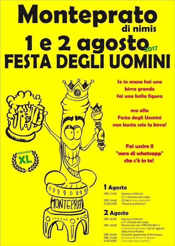 Festa degli uomini a Monteprato di Nimis, la tradizione continua 1 e 2 agosto 2017-2