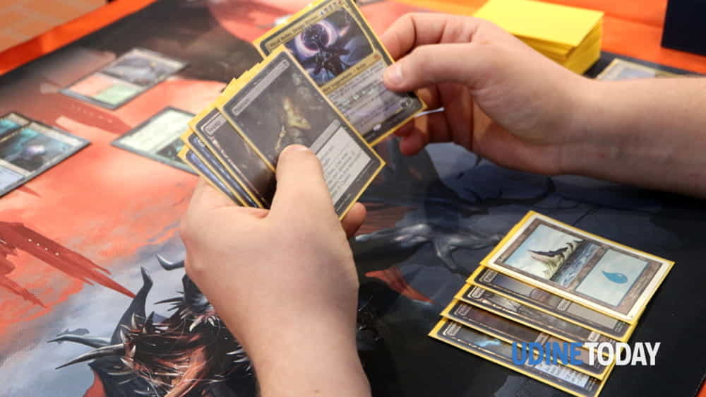 "magic prerelease ""trono di eldraine"" da am giochi e fumetti-4"