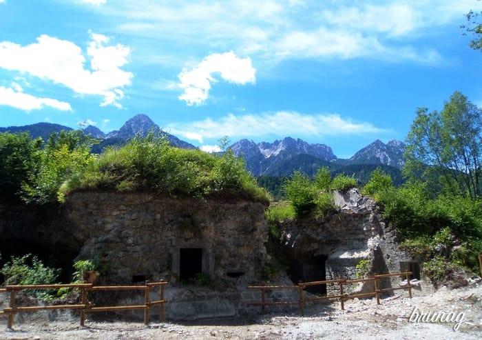 Forte Hensel sul promontorio del Tschalawaj a Malborghetto-3